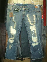 TRUE RELIGION BILLY 858 SUPER DESTROYED トゥルーレリジョン